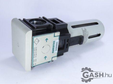 Vízleválasztó/szűrő, Asco Numatics 34203003 Modulair 112