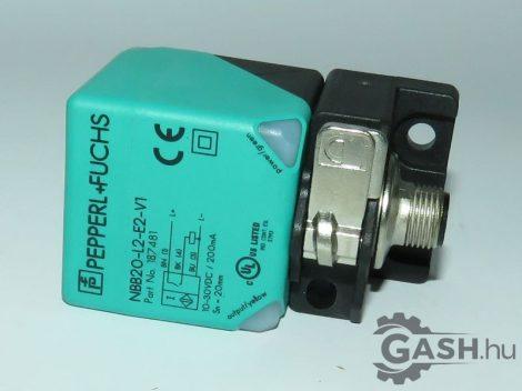 Induktív érzékelő, Pepperl+Fuchs 187481 NBB20-L2-E2-V1