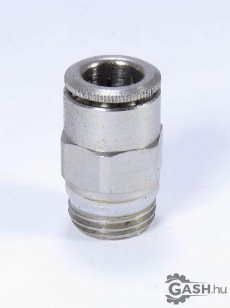 Egyenes dugaszoló csavarzat , Camozzi S65108-1/4 - S6510 8-1/4 - S6510-8-1/4