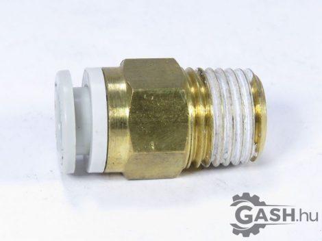 Dugaszoló csavarzat , SMC Pneumatics KQ2H08-02AS - KQ2H0802AS