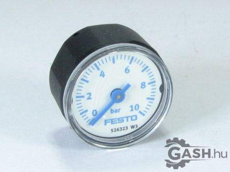 Nyomásmérő, Festo 526323 MA-27-10-M5