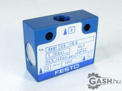 VAGY modul, Festo 6681 OS-1/8-B