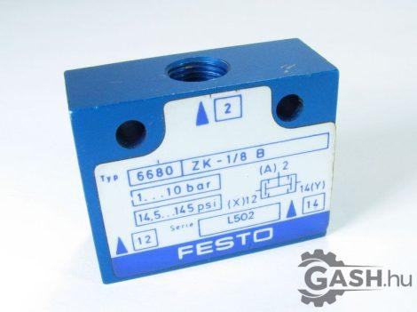 ÉS modul, Festo 6680 ZK-1/8-B