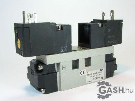 Mágnesszelep, SMC Pneumatics EVS7-6-FHG-D-3CVO-Q - EVS76FHGD3CVOQ