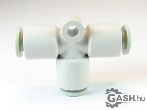 T gyorscsatlakozó, SMC Pneumatics KQ2T06-00A - KQ2T0600A