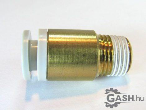 Dugaszolható menetes egyenes gyorscsatlakozó, SMC Pneumatics KQ2S06-01AS - KQ2S0601AS