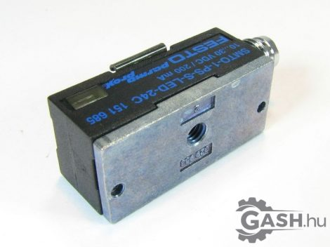 Közelítéskapcsoló, Festo 151685 SMTO-1-PS-S-LED-24-C