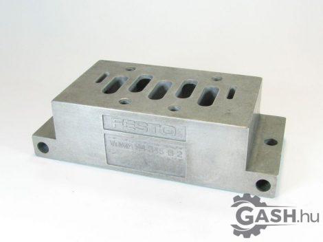 Csatlakozólap, Festo 11416 NAU-3/8-2B-ISO VDMA 24345-B-2