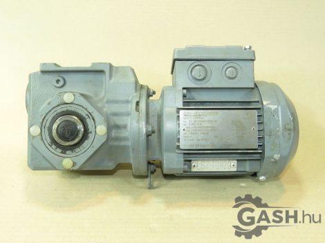 Hajtóműves motor, SEW-Eurodrive SA37/T DR63M4