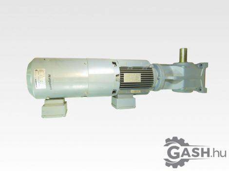 Hajtóműves motor hűtő motorral, fékes, jeladóval, SEW-Eurodrive K67 DV100M4/TF/VS/EV1T A2E 200-AF05-15