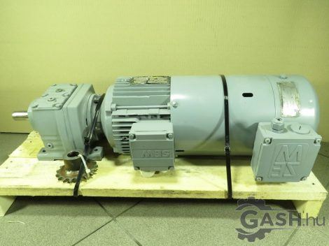 Hajtóműves motor hűtő motorral, SEW-Eurodrive R37 DT90L4 A2E200-AA01-65