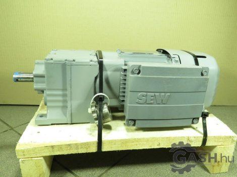 Hajtóműves motor, SEW-Eurodrive R17 DRS71S4BE05