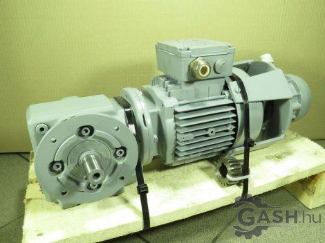 Hajtóműves motor jeladóval, SEW-Eurodrive SF37 DT71D4