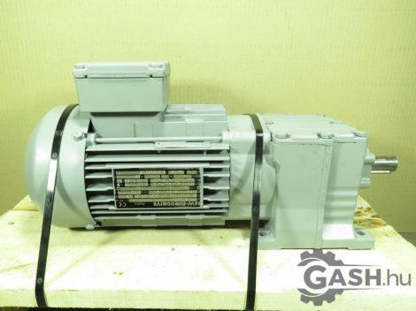Hajtóműves motor, SEW-Eurodrive R17 DT80K4