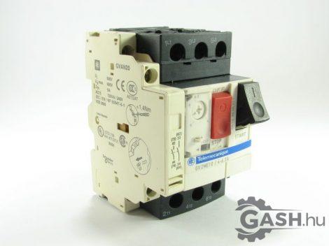 Motorvédő megszakító, Schneider Electric GV2ME10/4-6,3A GVAN20