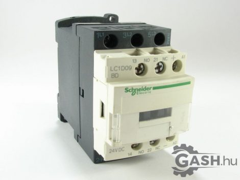 Védőrelé, Schneider Electric LC1D09BD