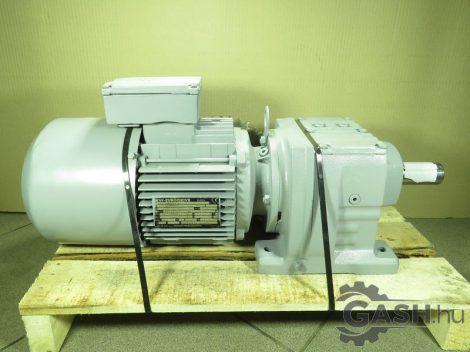 Hajtóműves motor, SEW-Eurodrive R57 DT90S4/BMG lánckerékkel