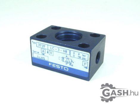 Alapszelep test, Festo 3737 LC-3-1/8