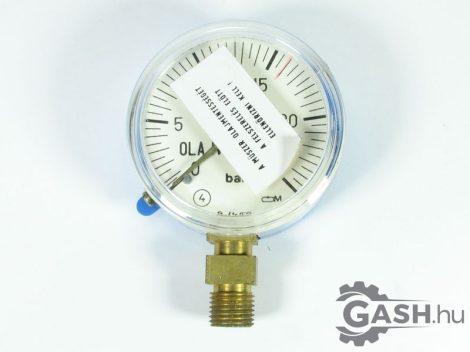 Nyomásmérő, Óra- és Műszer Ipari Szövetkezet Manométer 0-25 bar