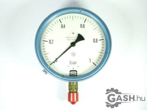 Nyomásmérő, MMG Automatika Művek Manométer 0-1 bar