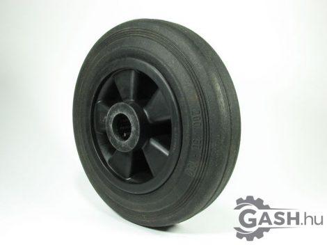 Tömör gumis kerék, Wicke 200/50-100 csapágyas fekete