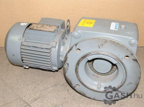 Hajtóműves motor, SEW-Eurodrive SAF52 DT71D4 szöghajtás peremes