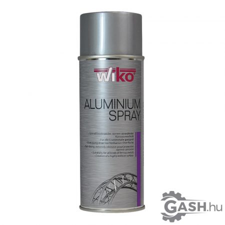 Alumínium spray, 400ml, Wiko AALS.D400